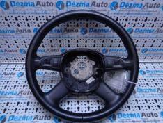 Volan piele cu comenzi, 4F0419091AH, Audi A6 Allroad (4FH, C6)