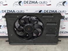 Electroventilator cu releu, 6G91-8C607-PE, Ford Mondeo 4, 2.0tdci, QXBB