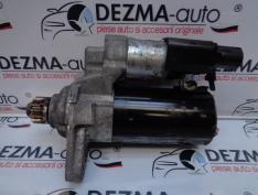 Electromotor 02Z911024H, 0001153007, Skoda Rapid 1.6tdi, CAY
