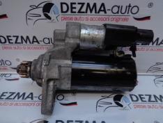 Electromotor 02Z911024H, 0001153007, Skoda Rapid 1.6tdi, CAYC