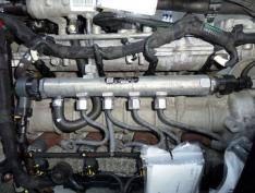 Rampa injectoare Opel Astra H combi, 1.9cdti, 0445214117