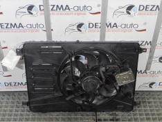 Electroventilator cu releu 6G91-8C607-GL, Ford Mondeo 4 Turnier, 2.2tdci