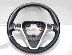 Volan piele cu comenzi, Ford Fiesta 6 [Fabr 2008-prezent] 8A61-3600-FF (id:408602)