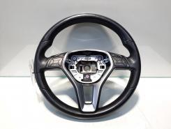 Volan piele cu comezi, cod A2184600518, Mercedes Clasa E T-Model (S212)