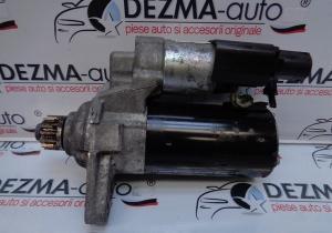 Electromotor 02Z911024H, 0001153007, Skoda Rapid 1.6tdi, CAYB