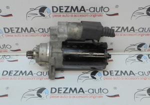 Electromotor 02M911023P, 0001123014, Skoda Octavia 2, 2.0tdi, AZV