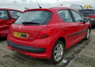 Vindem piese de caroserie Peugeot 207, 1.6hdi