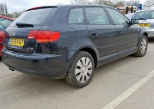 Piese de motor Audi A3 (8P1), 1.9 tdi BXE din dezmembrari