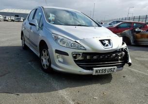Vindem piese de interior Peugeot 308 hatchback, 1.6 HDI 9HZ din dezmembrari