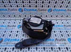 Centura dreapta fata cu capsa, 96527696XX, Peugeot 307 Break, 2002-2007