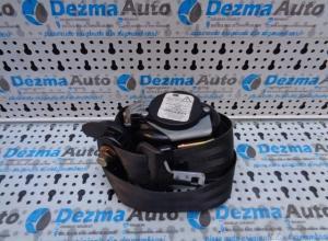 Centura stanga fata cu capsa, 96612289XX, Peugeot 307 Break, 2002-2007
