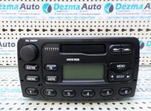 Radio casetofon YS6F-18K876-DA, Ford Tourneo Connect, 2002-In prezent