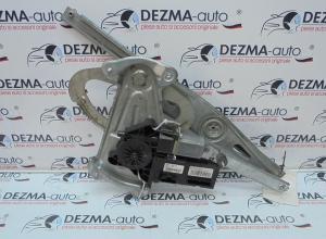 Macara cu motoras stanga fata, 807200001R, Renault Megane 3 combi