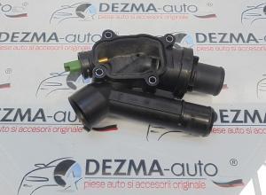 Corp termostat, 9657182080, Peugeot 407 SW (6E) 2.2hdi (id:252865)