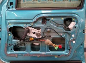 Macara manuala dreapta fata Nissan Kubistar 2003-In prezent