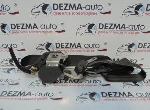 Centura stanga fata cu capsa, 96498059XX, Peugeot 207 SW