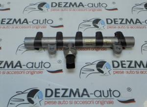 Rampa injectoare, 9645689580, Peugeot 407 SW (6E) 2.0hdi, RHR