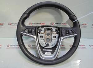 Volan piele cu comenzi GM13351021, Opel Astra J combi (id:300234)