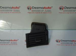 Grila aer bord stanga 8E0820901F, Audi A4 (8EC, B7)