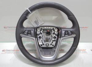 Volan piele cu comenzi, GM13316547, Opel Insignia A sedan