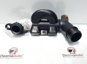 Tub intercooler, Ford Focus 2 (DA) 1.6 tdci, cod 9670210780 (id:366823)