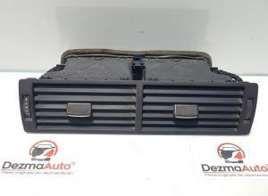 Grila aer bord centrala, Audi A4 (8EC, B7) cod 8E0820951H (id:368121)