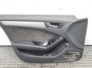 Tapiterie stanga fata, Audi A4 Avant (8K5, B8) cod 8K1867105 (id:370231)