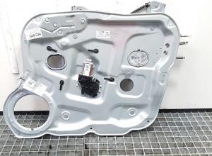 Macara cu motoras dreapta fata, Hyundai Santa Fe 2 (CM) cod 82480-2B070J4S4 (id:371574)