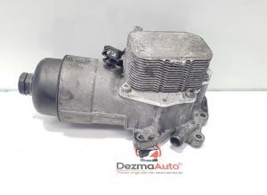 Carcasa filtru ulei cu racitor, Peugeot 307 SW, 1.6 hdi (id:380591)