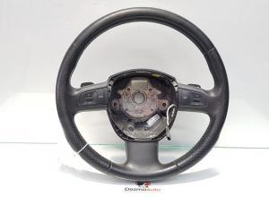 Volan piele cu comenzi, Audi Q7 (4LB) cod 4F0419091AQ (id:388423)
