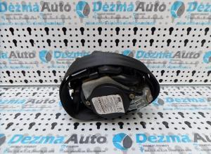 Centura stanga fata cu capsa, 96612289XX, Peugeot 307, 2000-2007, (id:168826)