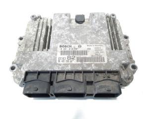 Calculator motor, cod 9646559980, 0281010707, Peugeot 206, 1.4 hdi, 8HY (id:483378)