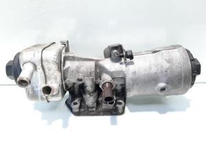 Carcasa filtru ulei cu racitor ulei, cod 045115389J, Vw Passat (3C2) 2.0 TDI, BMR (id:499011)