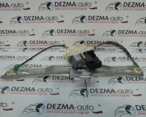 Macara cu motoras dreapta fata, 9663036580, Peugeot 407 SW (6E) (id:252559)