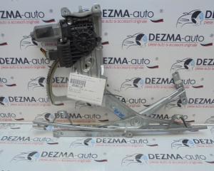 Macara cu motoras dreapta fata, GM13132221, GM13132435, Opel Zafira B (A05) (id:259510)