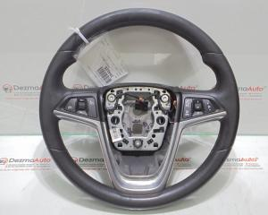 Volan piele cu comenzi, GM13316547, Opel Insignia A Combi
