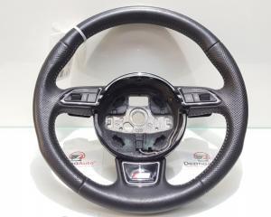 Volan piele cu comenzi si padele 8U0124A, Audi Q5 (8R) (id:338563)