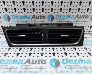 Grila aer bord centrala 8T1820951C, Audi A5, 2007-2013