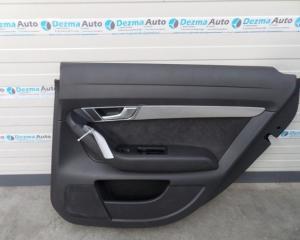 Tapiterie dreapta spate, 4F0867306, Audi A6, 4F, 2004-2011 (id.162378)