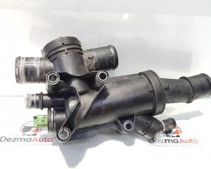 Corp termostat Peugeot 407 SW 2.0 hdi, RHR, cod 9656182980 (id:379698)
