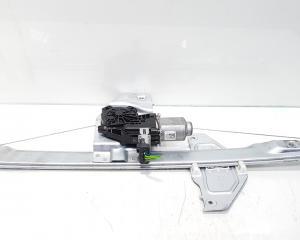 Macara cu motoras stanga fata, Peugeot Partner (I) (id:385679)