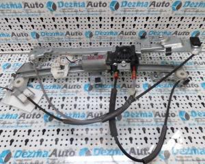 Macara cu motoras dreapta fata, 0130821762, Peugeot Partner, 1996-2008, (id.130072)