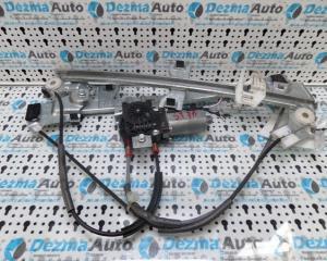 Macara cu motoras stanga fata, 0130821763, Peugeot Partner, 1996-2008, (id.119018)