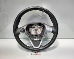 Volan piele cu comenzi, Ford B-Max [Fabr 2012-prezent] 1.4 benz, AV11-3600-EB3ZHE (id:417192)