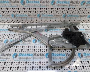 Macara cu motoras dreapta fata, GM13132435, Opel Zafira A05, 2005-2013 (id.114585)