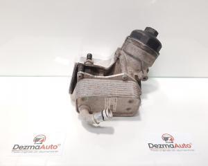 Carcasa filtru ulei cu racitor ulei, Opel Astra J [Fabr 2009-2015] 1.7 cdti, A17DTR, 6740273586, 897385819 (id:430040)