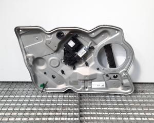 Macara cu motoras stanga fata, Skoda Octavia 2 Combi (1Z5) [Fabr 2004-2013] (id:430553)