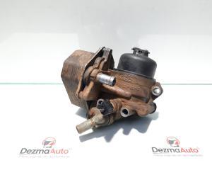 Carcasa filtru ulei cu racitor ulei, Fiat Ducato (250) [Fabr 2006-prezent] 2.2 jtd, 4HV, 6C1Q-6B624-AC (id:443144)