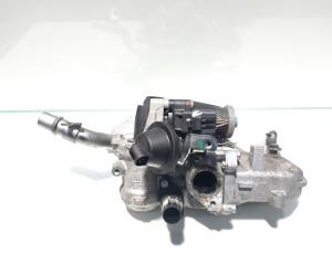 EGR cu racitor gaze, Ford Focus 3, 1.6 TDCI, T1DB, cod 9801194080 (id:450894)