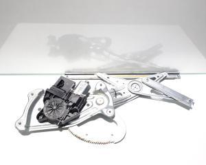 Macara cu motoras dreapta fata, Renault Megane 3, cod 966416102 (id:452341)